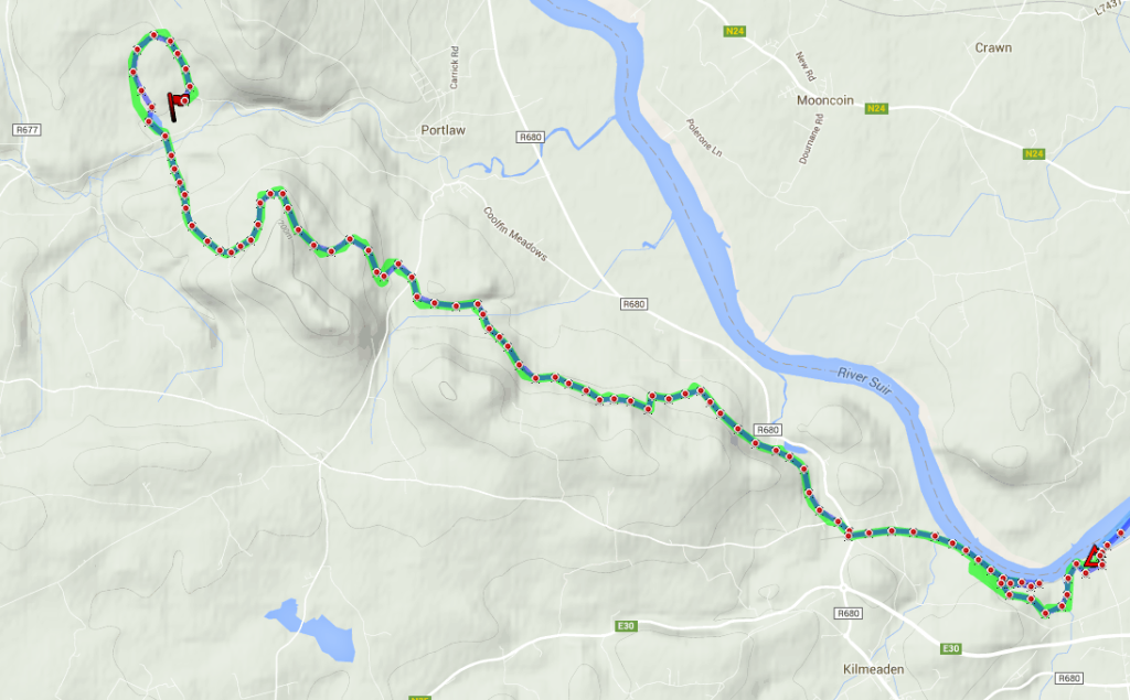 Stage 1 - Beast of Ballyhoura; Curraghmore House to Mount Congreve