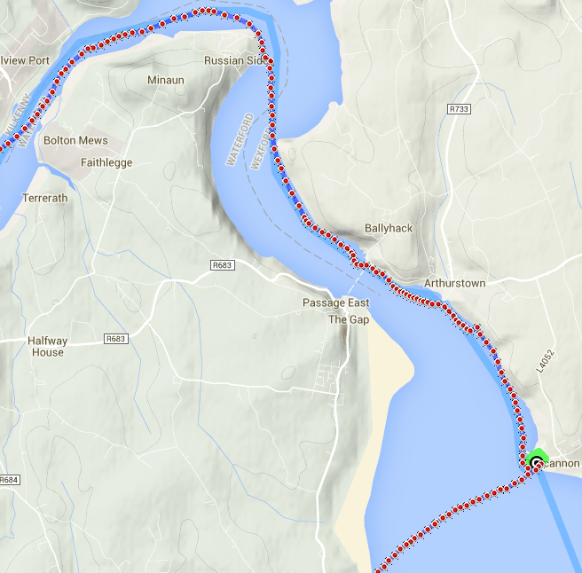 Stage 4 Beast of Ballyhoura 31k River to Sea paddle